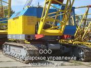 Аренда гусеничных кранов МКГ-25 БР.