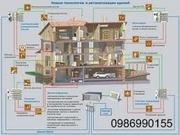 Проектирование,  монтаж,  инсталяция системы «Умный Дом».