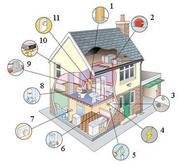 Расчет систем и квалифицированный монтаж  отопления,  водоснабжения