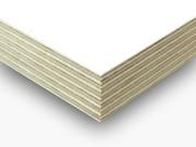 Ламинированная влагостойкая фанера ФСФ белого цвета  6.5 мм,  9, 5 мм,  1